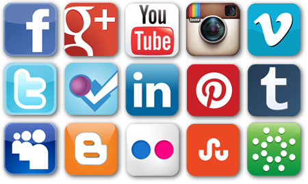 Divulgação de blogs e youtube redes sociais