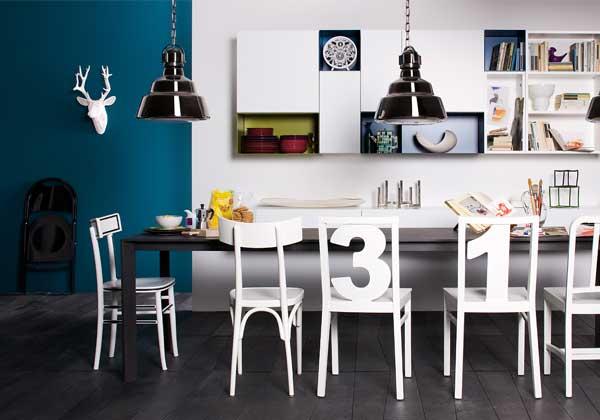 Diamo i numeri architettura e design a roma for Arredamento tinello moderno