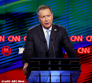 Gov. John Kasich First To Utter 'UFO' in Debate