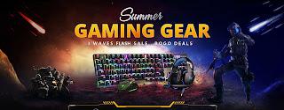 عروض وتخفيضات على اكسسوارات الالعاب gaming gear من gearbest