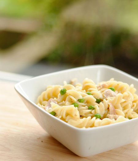 Light and Creamy Chicken Pasta