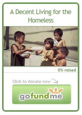 ♥Hope for the Homeless♥ Send Your Donation Now!