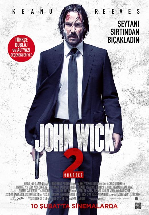 John Wick Chapter 2 2017 English 550MB Web-DL 720p HEVC