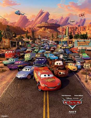 Cars 2006 Hindi Dubbed 300mb Dual Audio 720p HEVC Movie Download in HD Free Download Watch Online downloadhub.in