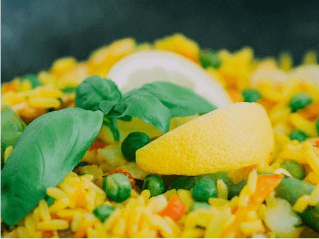 Receita de arroz ao suco de laranja