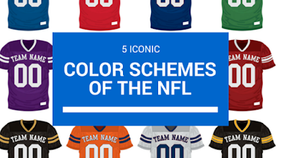 popular nfl color schemes
