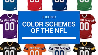 popular nfl color schemes