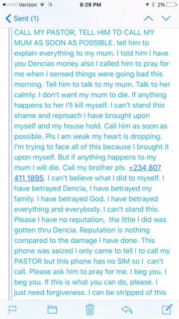dencia defrauded