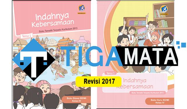 Download Buku K13 Kelas 4 SD Semester 2 Revisi 2017 Pdf
