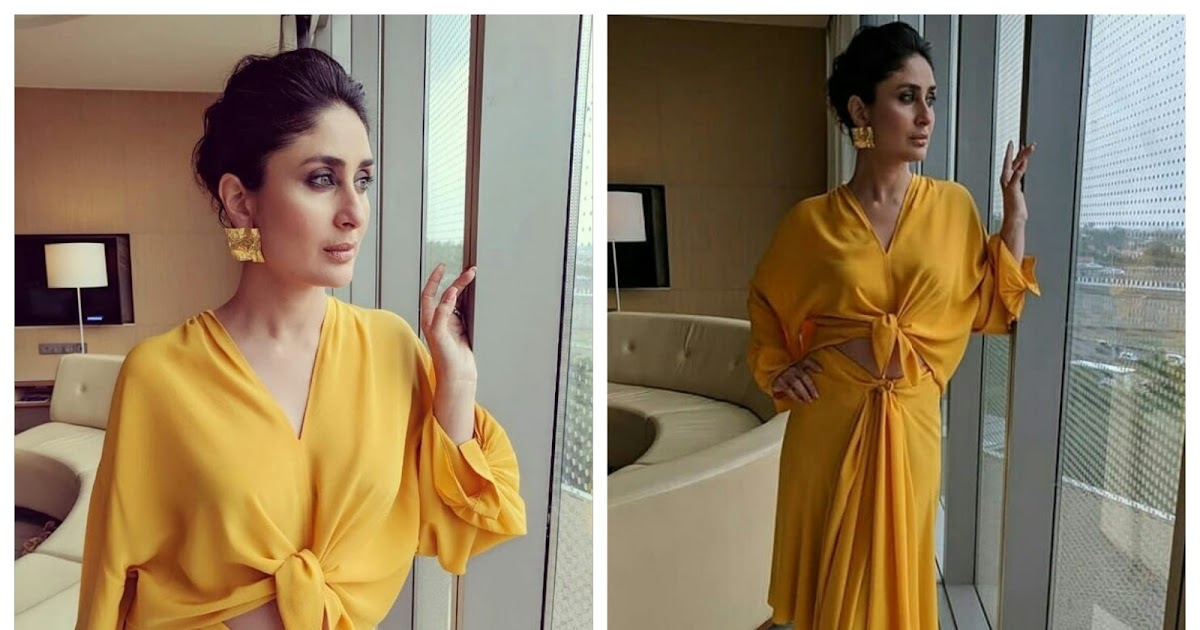 Kareena Kapoor Shines In A Bright Yellow Dress!