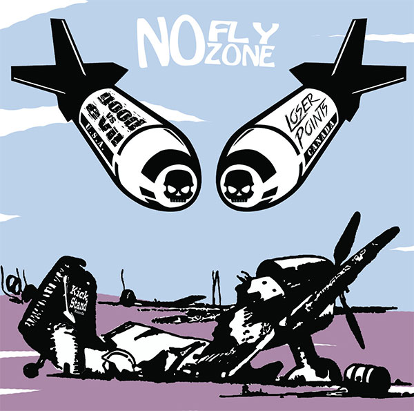 "Good vs Evil and Loser Points stream new split ""No Fly Zone"""