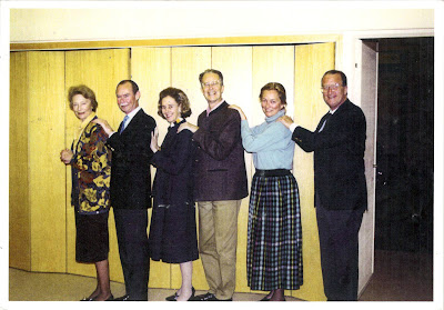 From the left to the right: Grand Duchess Joséphine Charlotte  of Luxembourg; Grand Duke Jean of Luxembourg; Queen Fabiola  of Belgium; King Baudouin of Belgium; Princess Paola and  Prince Albert dancing polonaise (cca 1984)