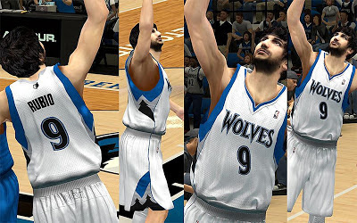 NBA 2K13 Minnesota Timberwolves Home Jersey Patch