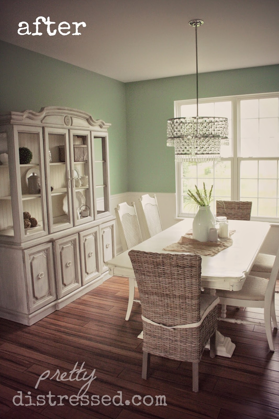Pretty Distressed: Dining Room - Before & After