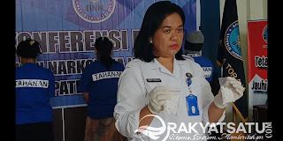 """Dapat Kiriman 1000 Butir PCC di Bua, """"LU""""  Diciduk BNN Tana Toraja dengan Ancaman Hukuman Mati"""