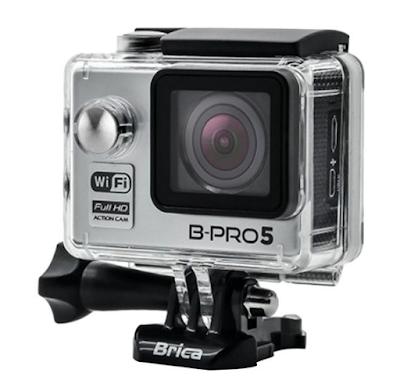 Brica B-Pro 5 Alpha Edition Silver Action Cam