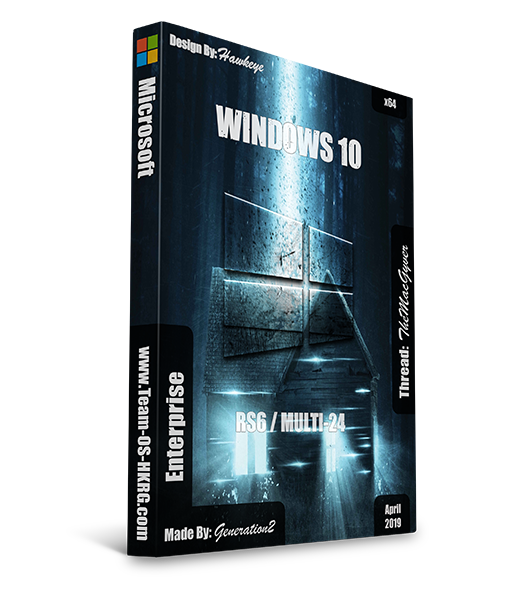 Windows 10 Enterprise v1903 X64 MULTi-24 APRIL 2019 Redstone