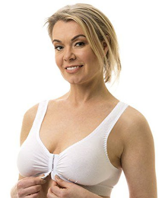 How to remove a front closure bra