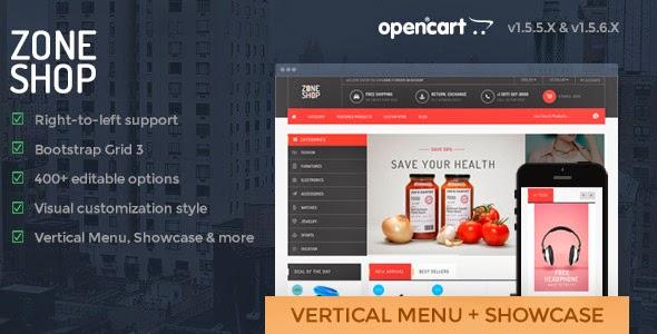 Premium Opencart Template