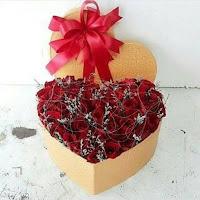 Bunga Box Mawar