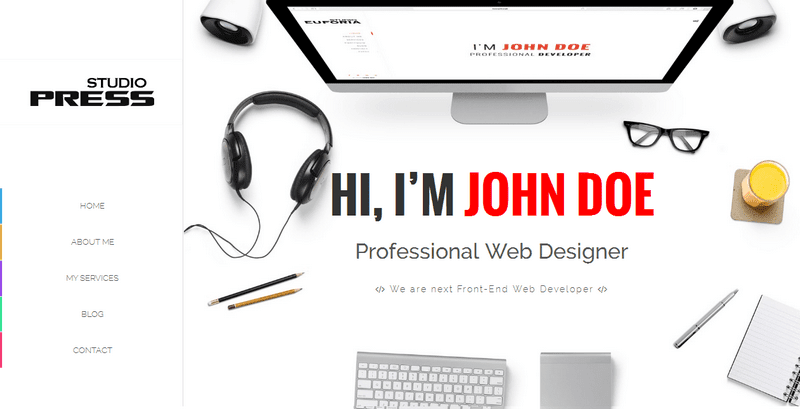 StudioPress - Responsive Creative & Portfolio Blogger Template