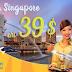 Vi vu Singapore với vé máy bay siêu rẻ 39 USD của Tiger Air