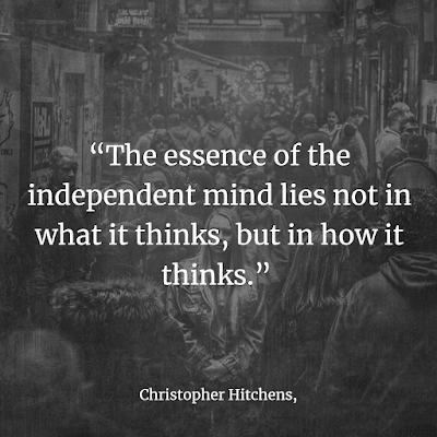 Christopher Hitchens atheism quote