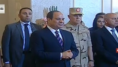 السيسي للمصريين: 'مينفعش توضبوا جوا بيوتكم وتسيبوا الطوب الأحمر من برا'