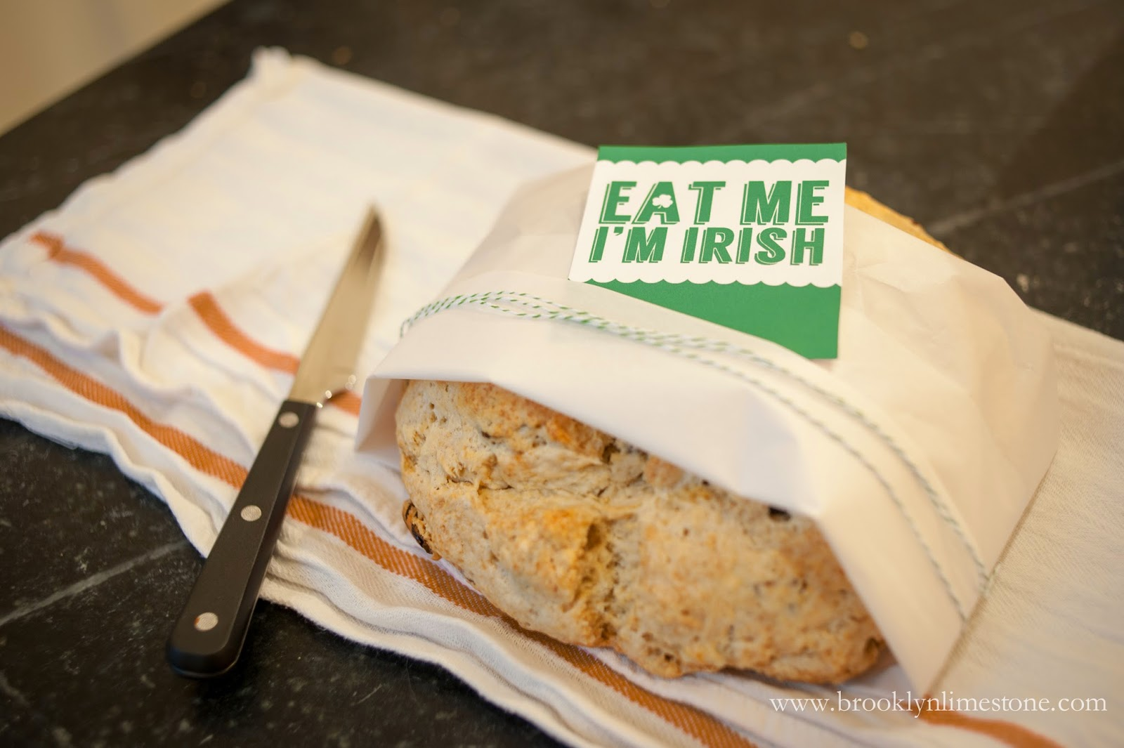 No Knead Irish Soda Bread Recipe | Brooklyn Limestone
