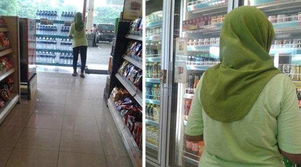PELIK Wanita Ini Mundar Mandir Di Rak Makanan Sebuah Stesen Minyak. Selepas Disiasat Rupa rupanya