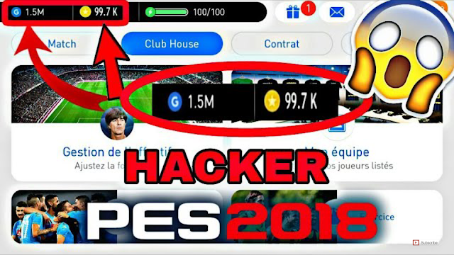 PES 2018 HACK - PES 2018 FREE GP & CONIS CHEATS (Android/IOS)