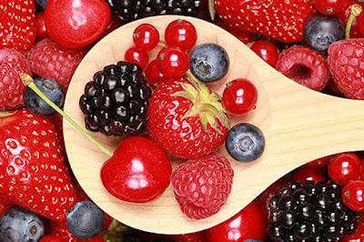 فوائد الفواكه الحمراء