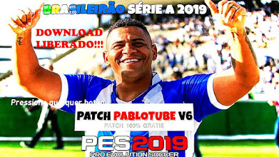 PES 2019 Patch PabloTube V6 Season 2018/2019