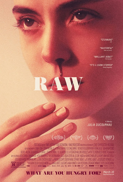 Poster of Raw (Grave) 2016 UnRated 720p French HDRip Full Movie Download