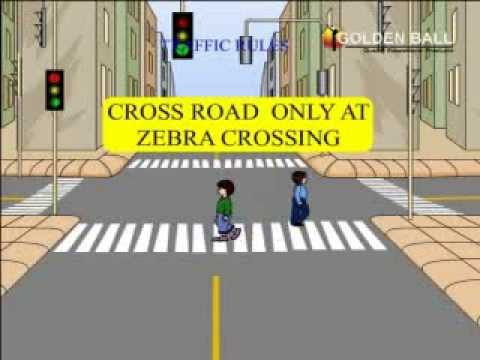 Image result for cross only at zebra crossing sign
