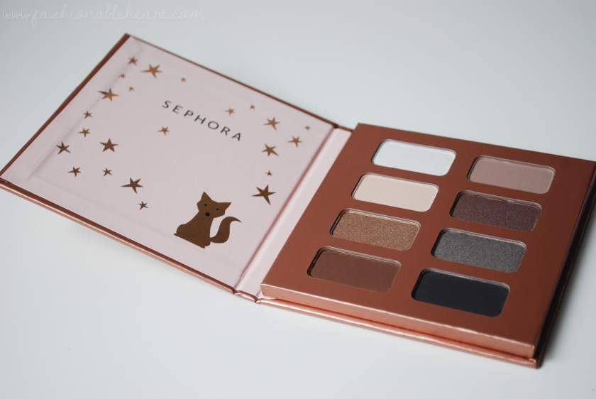 bbloggers, bbloggersca, canadian beauty bloggers, beauty blog, sephora collection, sephora, sephora canada, winter magic, palette, fox, rose gold, shimmer, matte, swatches, product review, affordable, budget friendly, holidays 2017, christmas, stocking stuffer, 8 eyeshadows, eyeshadow palette, vib sale