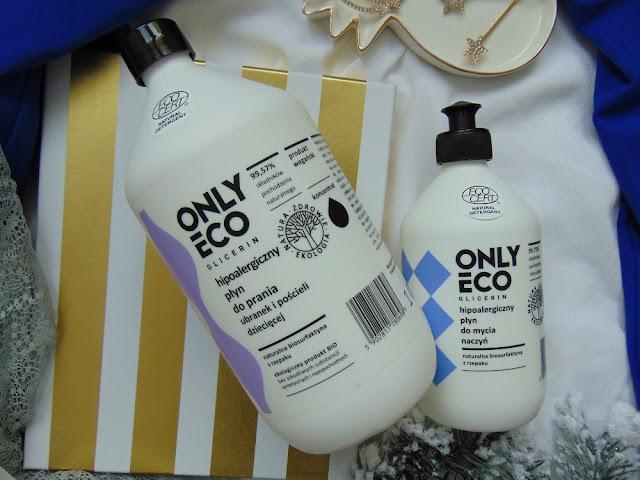 Only Eco - Ekologiczny płyn do prania ubranek dziecięcych i Ekologiczny płyn do mycia naczyń