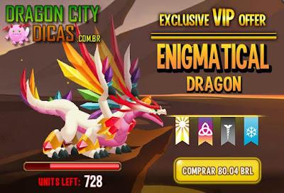 Oferta VIP do Dragão Enigmático