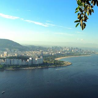 Aterro do Flamengo, visto do Morro da Urca, Rio de Janeiro