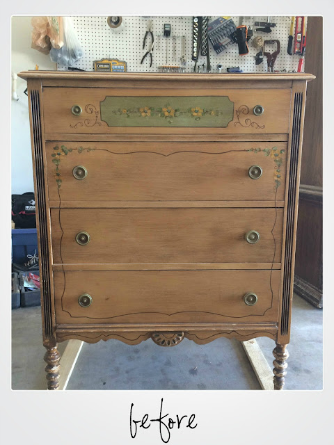 before and after, milk paint, diy, painting a dresser, ofmp, old fashioned milk paint, painted dresser, pitch black, shabby chic, fffc, furniture flip