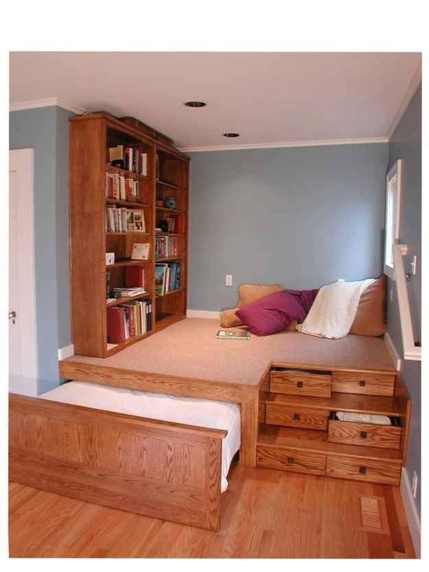 Kamar tidur dengan banyak sekali laci multifungsi WAJIB BACA