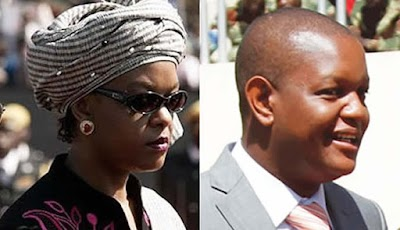 Grace Mugabe's son evicted over rent arrears
