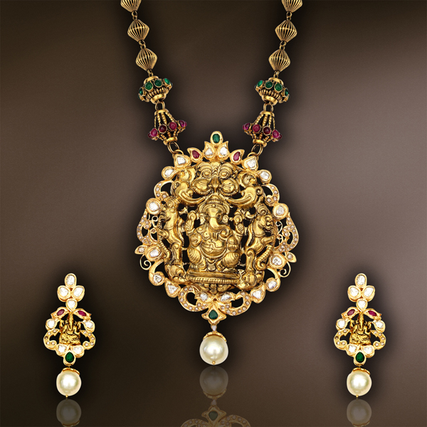 Jewellery designs page 1179 of 1240 latest indian jewellery antique temple jewellery designs aloadofball Choice Image