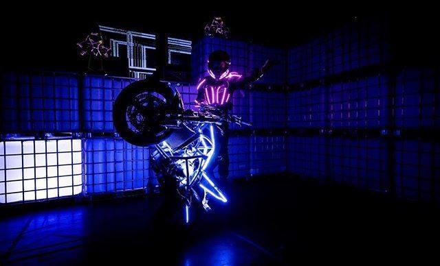 Bowers Stunts MotorcycleLive ArenaCrossUK  ASL Moto Cirque Icon Motosports