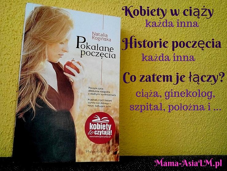 pokalane poczęcia książka recenzja książki okładka rogińska natalia prószyński
