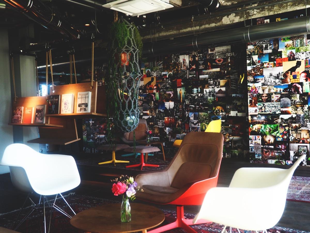 25hours Hotel Bikini Berlin Lounge