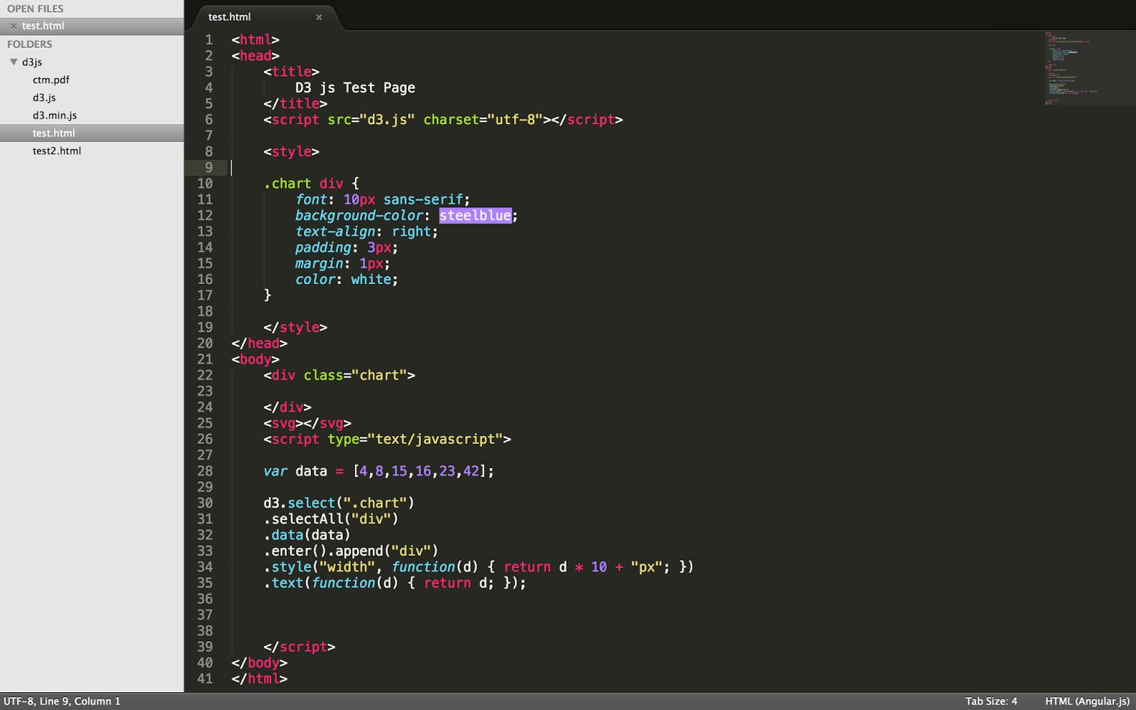 d3 js Introduction | Handy Scripts