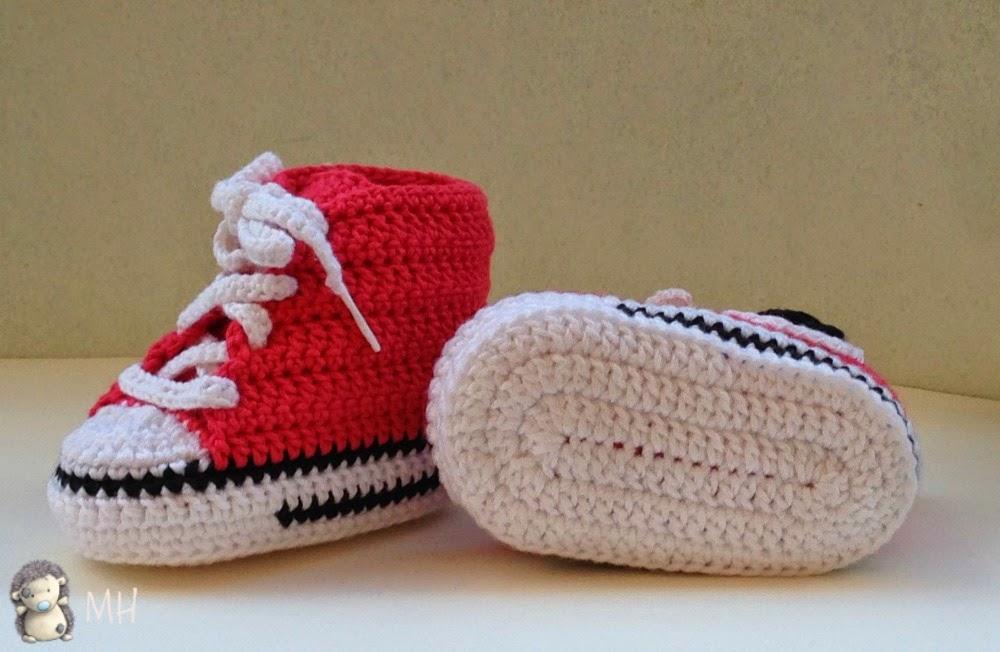 Converse a crochet