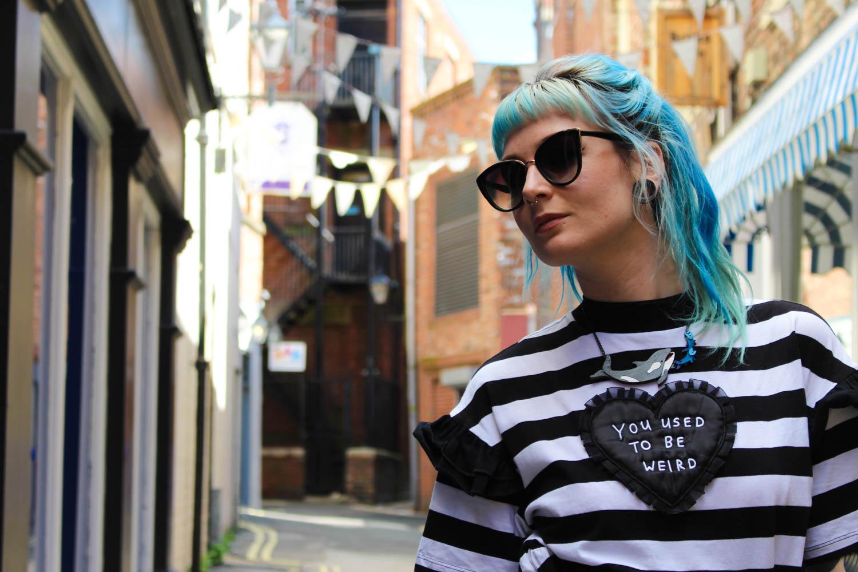 Alternative Style Blogger Foxxtailz Lazy Oaf