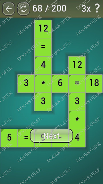 Math Games [Beginner] Level 68 answers, cheats, solution, walkthrough for android